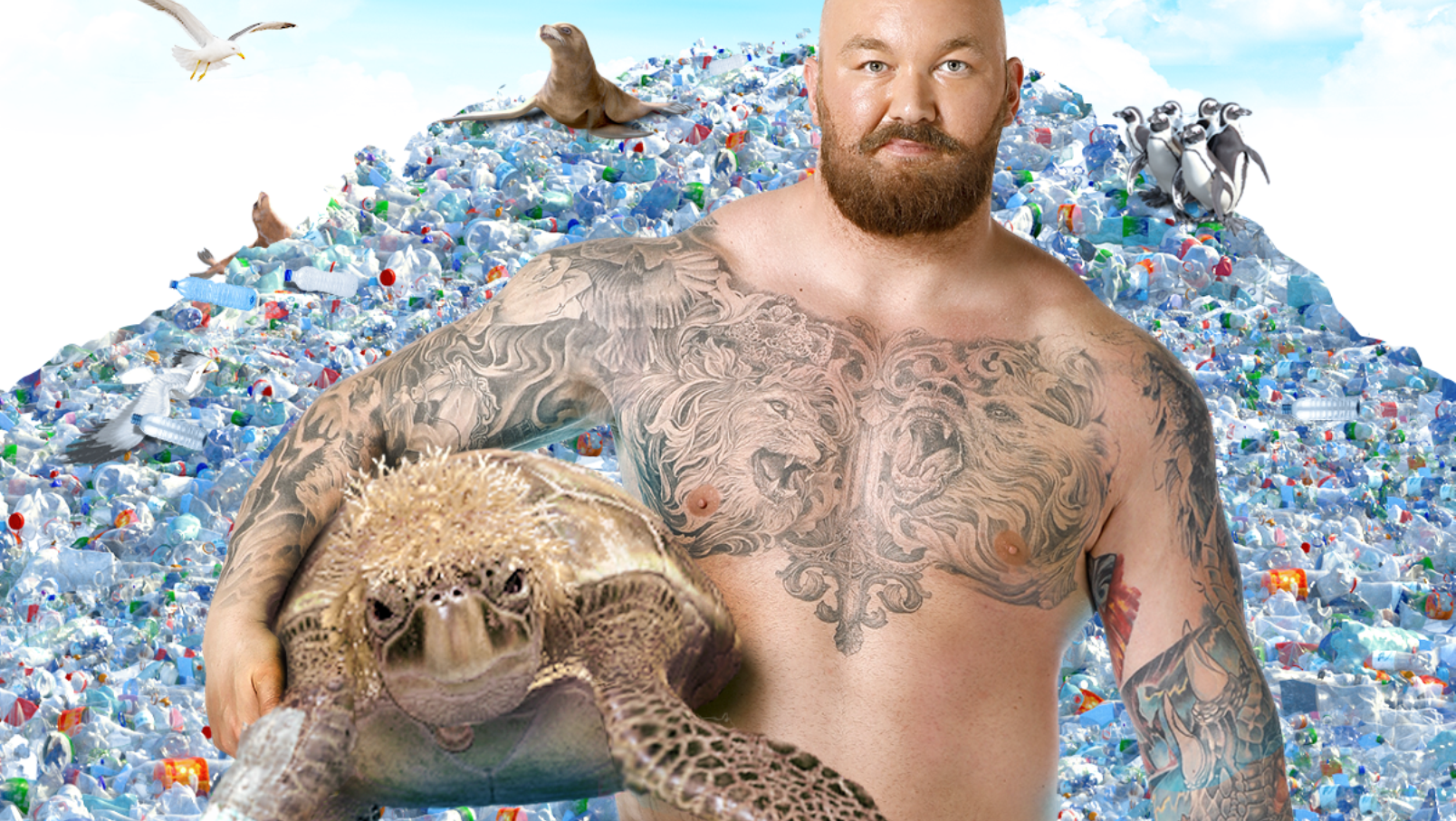 Sodastream Enlists Celebrities In War On Plastic Pollution photo