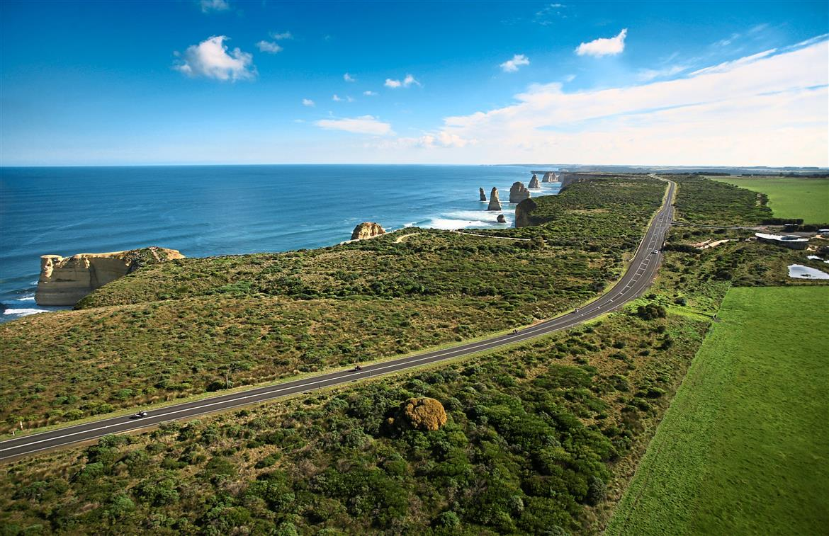 Fun Begins At The Great Ocean Road In Victoria, Australia photo