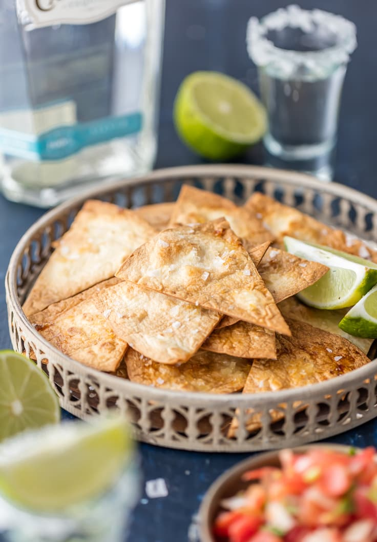 tequila lime baked tortilla chips 7 of 10 The Best Drinks To Enjoy With Nachos