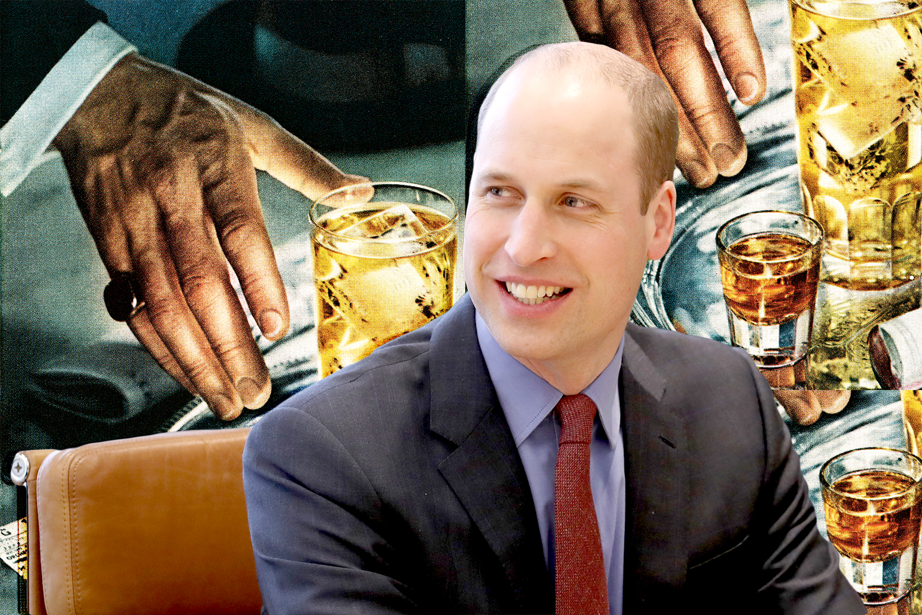 "Prince William Is Here To Tell Us How Someone ""accidentally"" Does A Shot Of Jägermeister photo"