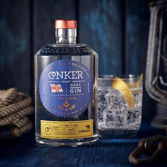 Conker Spirit Sets Sail With Navy Strength Gin And Supports Rnli photo