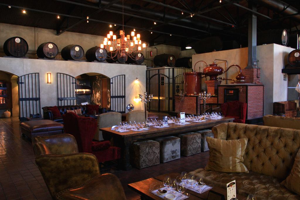 van ryns interior 5 Most Beautiful South African Distilleries