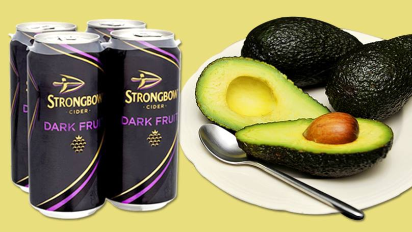 A Can Of Strongbow Dark Fruit Is Less Calorific Than An Avocado photo