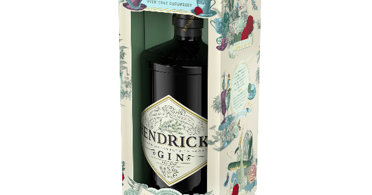 Hendrick's Launches Special Christmas Pack Ahead Of Festive Season photo