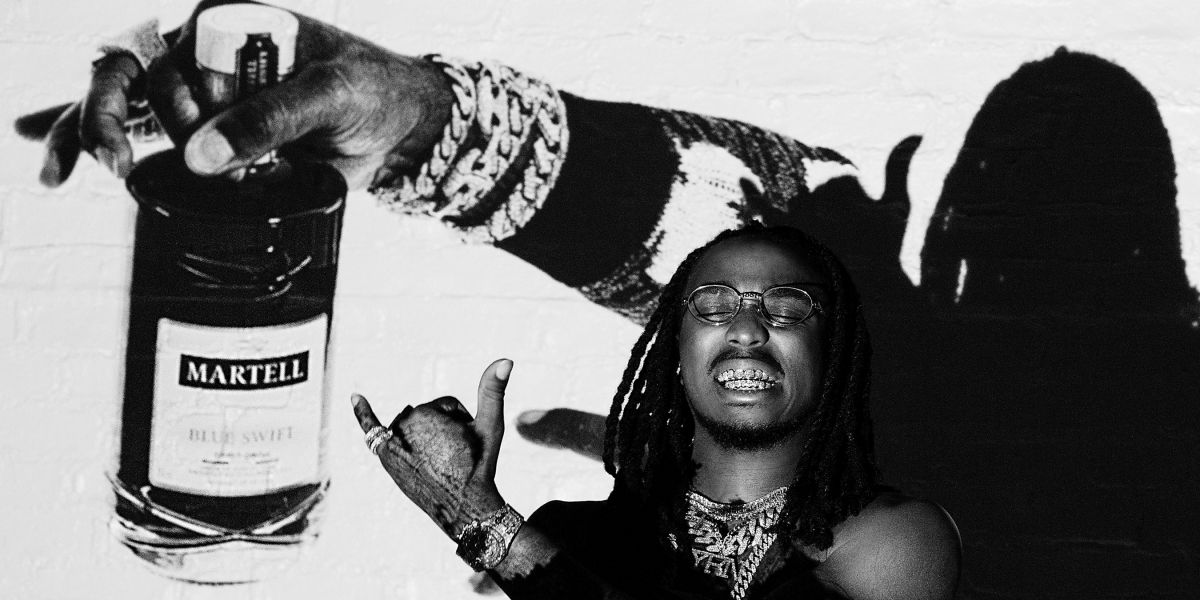 Quavo And Martell Cognac Join Forces For The Culture With ?make Your Statement? Movement photo