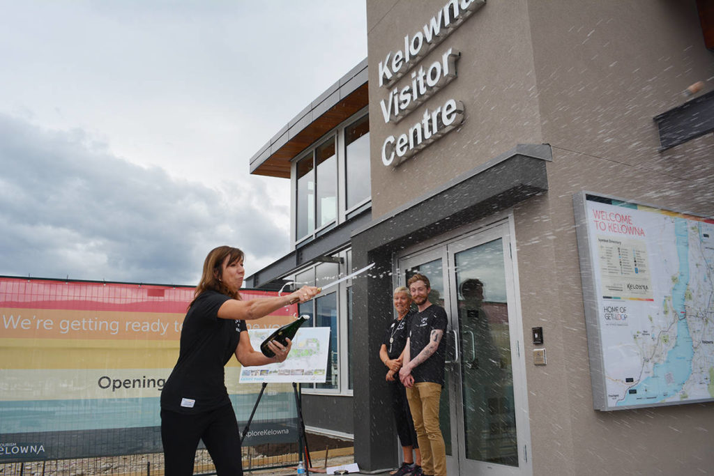 Popularity Of New Kelowna Visitor Centre Exceeds Expectations photo