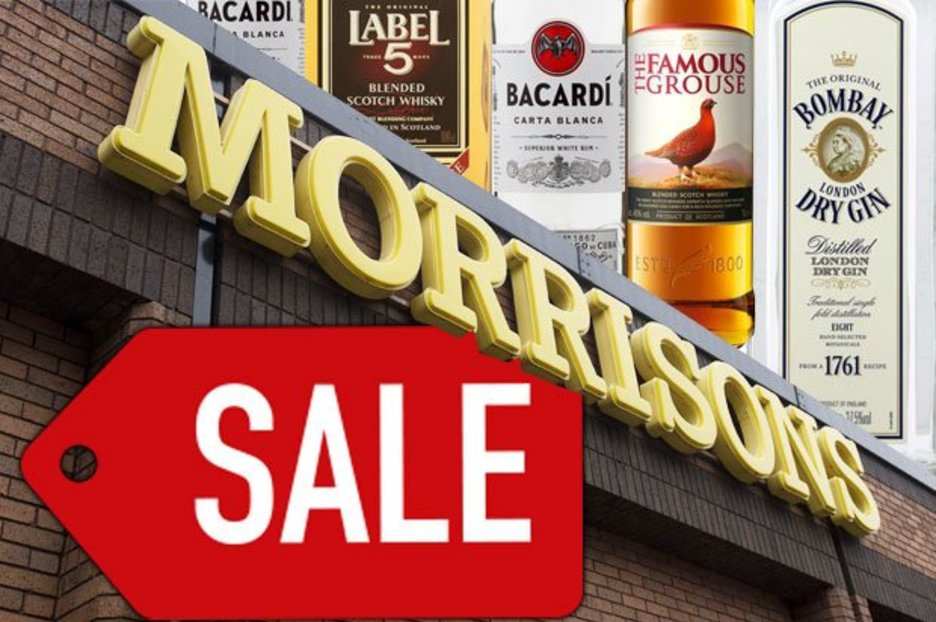 Morrisons Best Alcohol Offers Revealed: These One-litre Bottles Are All Just £15 photo