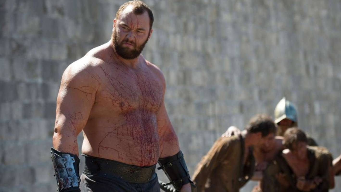 Man Mountain: Game Of Thrones Star Weighs 183kg, Eats 10,000 Calories A Day photo