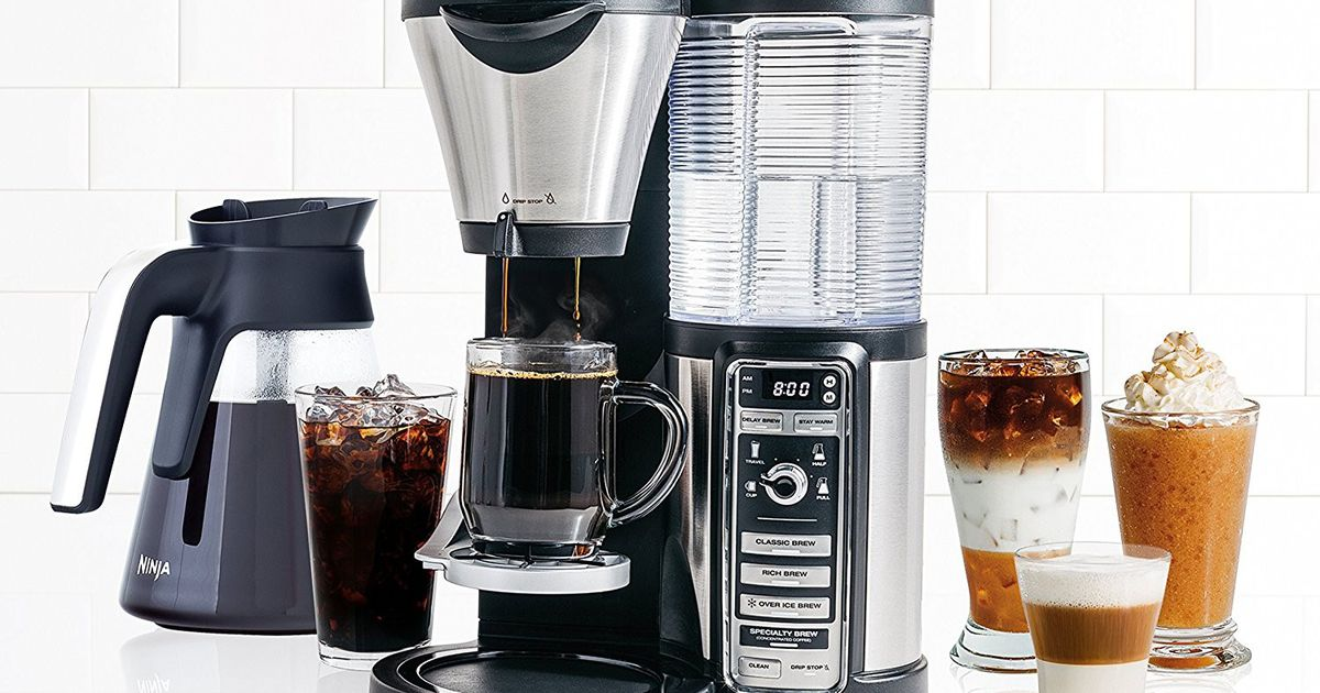 Save $70 On This Ninja Coffee Maker At Walmart And Get Your Caffeine Fix All Season Long photo