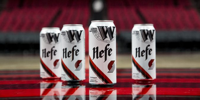 Widmer Brothers And Portland Trail Blazers Release Cobranded Cans Of Flagship Hefe photo