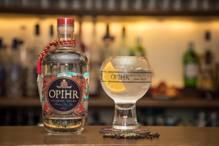 Christmasetc: Winner Of Opihr Gin Hamper photo