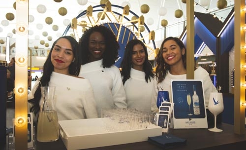 Grey Goose Launches Holiday Pop-up In Jfk's Terminal 4 photo