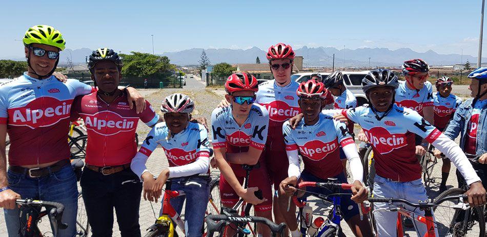Alpecin's Willie Smit Donates Bikes, Kit To Development Cycling photo