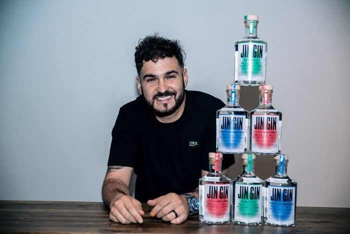 J'something On Launching His Own Craft Gin photo