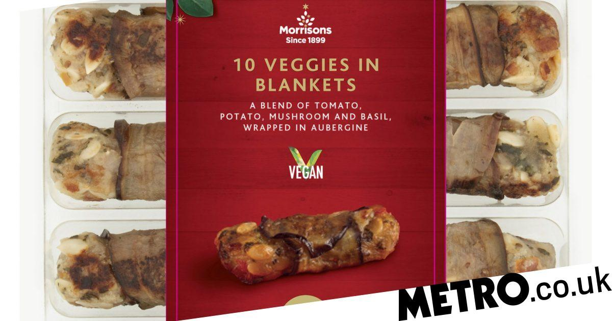 Morrisons Launches Veggies In Vests As A Vegan Alternative To Pigs In Blankets photo