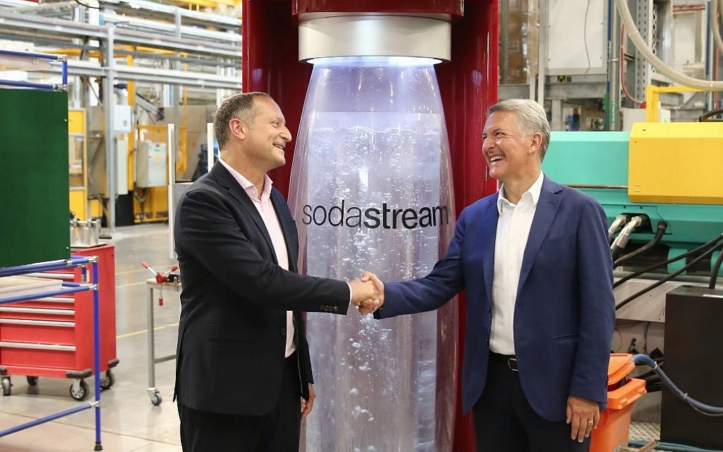 Israeli Fizzy-water Maker Sodastream To Set Up Plant In Gaza, Ceo Says photo