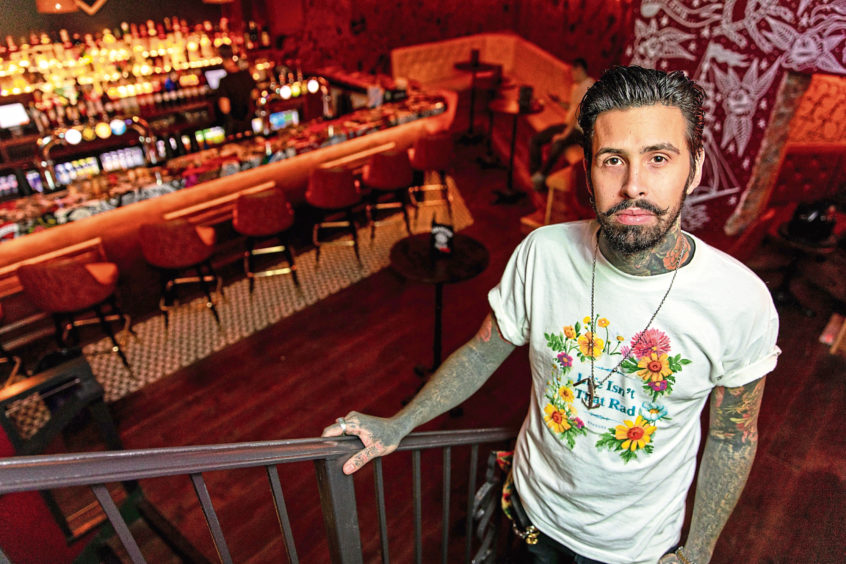 Excitement As 'american Dive Bar' Opens In Dundee City Centre photo