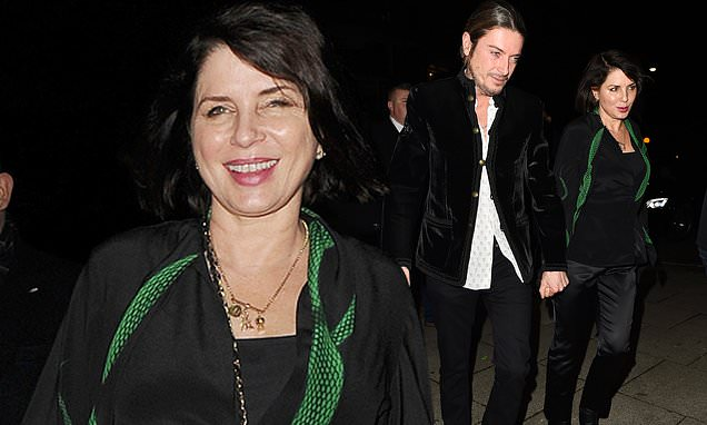 Sadie Frost Attends Haig Club Bash With Boyfriend Darren Strowger photo