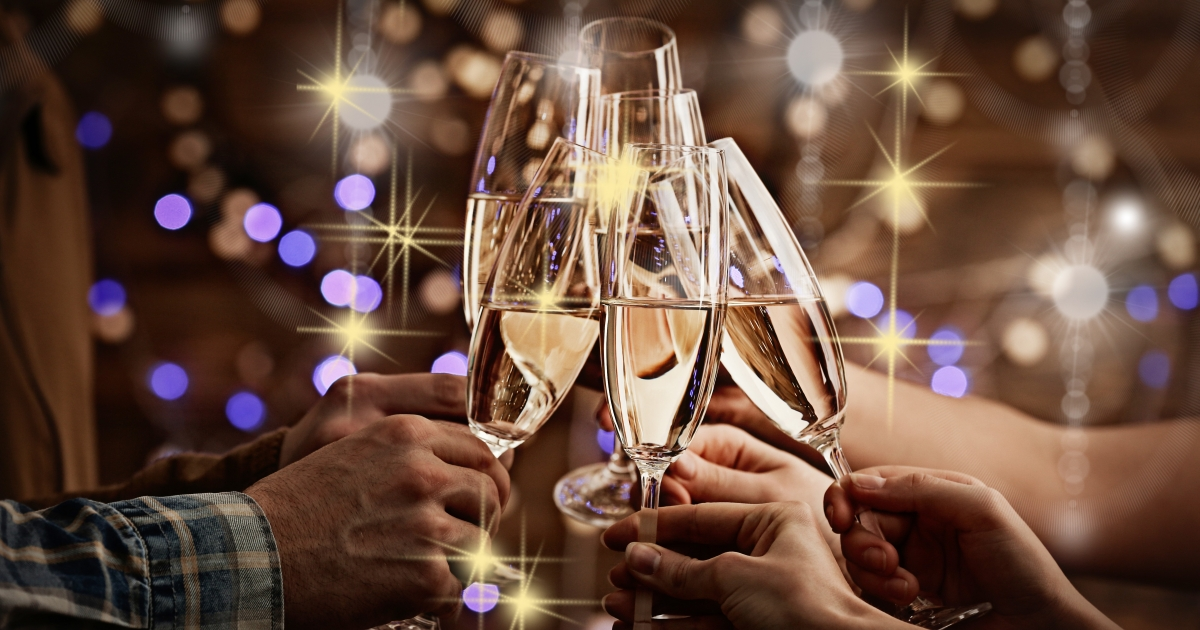 Make It A White Christmas With A Blanc De Blancs Champagnes photo