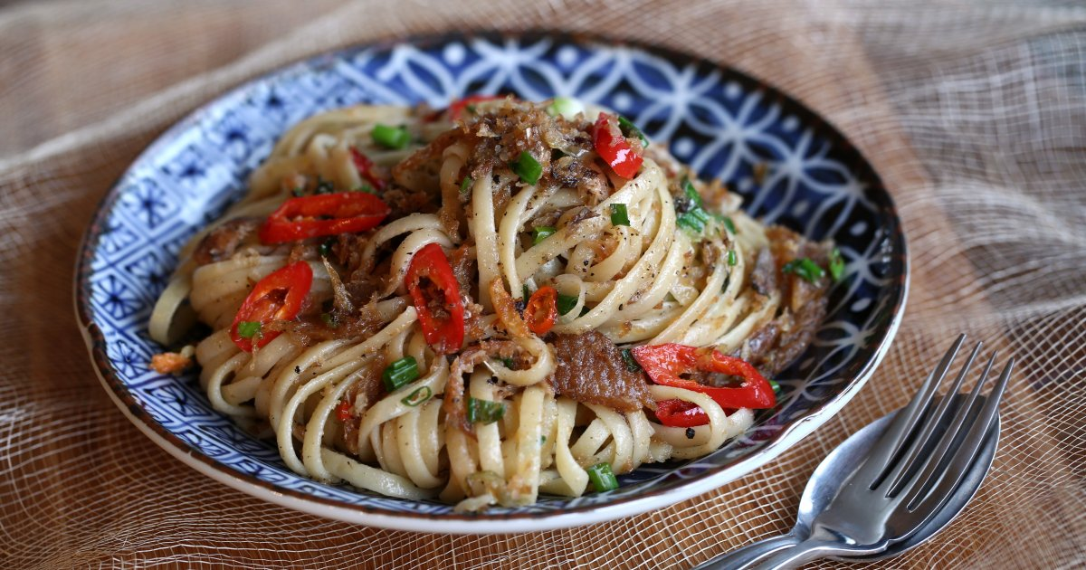 Where East Meets West – Simple Pasta Recipes Under 15 Minutes photo