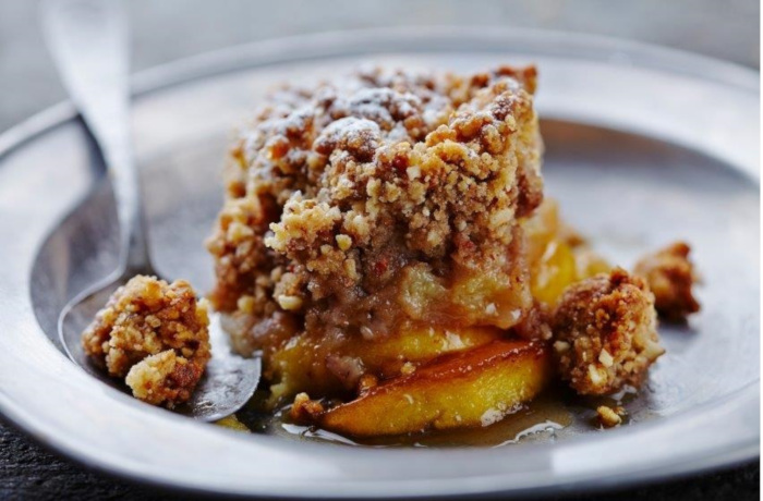 Enjoy Guilt-free Dessert With This Recipe For Gluten-free Paleo Apple Crisp photo
