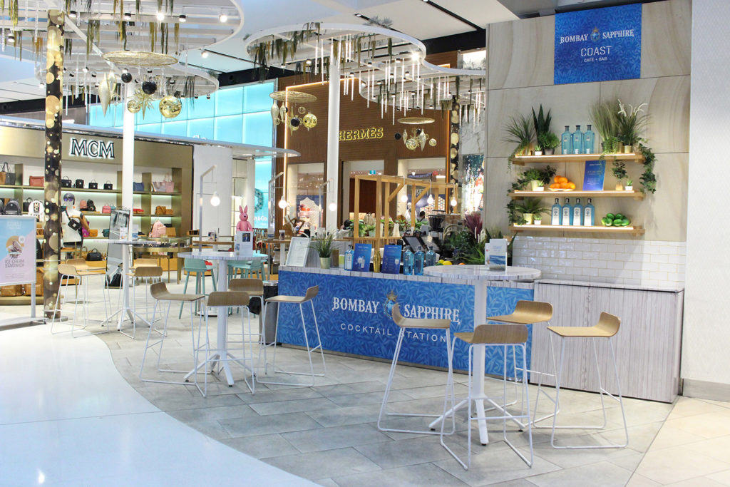Heinemann And Partners Open Bombay Sapphire Pop-up At Sydney T1 photo