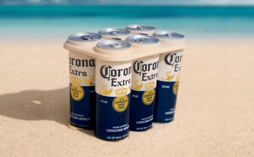 Cheers! Corona Launches Plastic-free Beer Can Rings photo