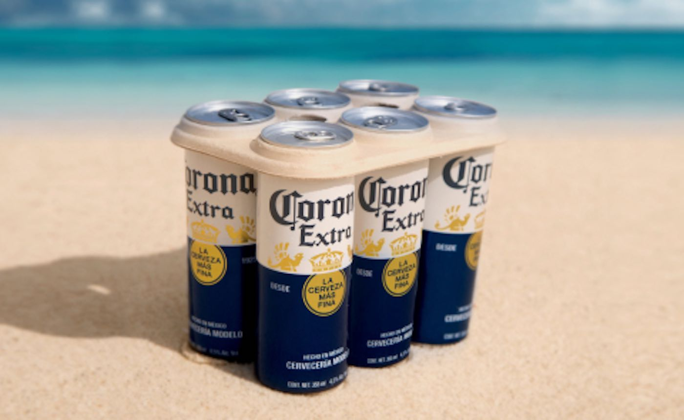 Corona Beer To Ditch Plastic Packaging By Using Biodegradable 6-pack Rings photo