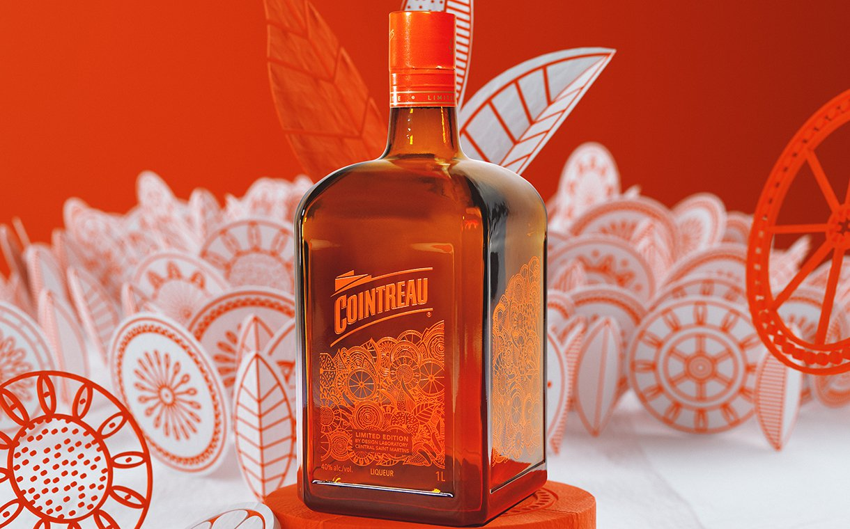 Rémy Cointreau Releases Limited-edition Cointreau Bottle Designs photo