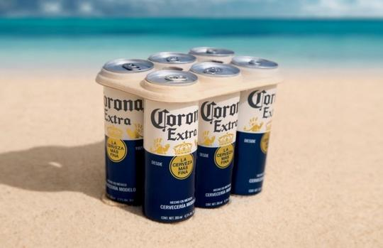 Corona Introduces Plastic-free Six Pack Rings photo