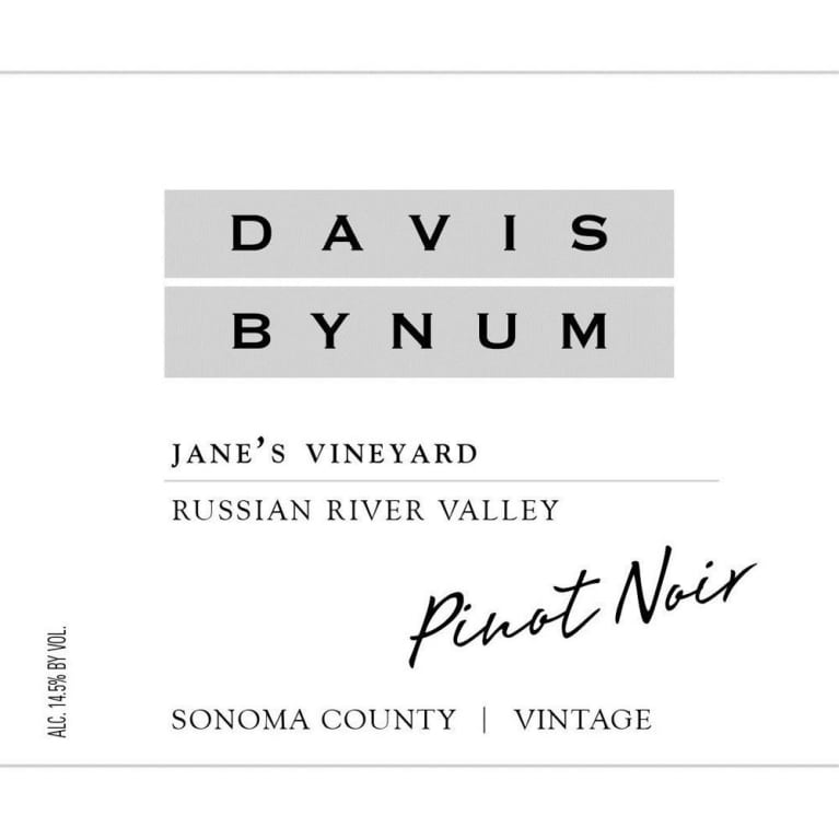 Davis Bynum Jane?s Vineyard Pinot Noir photo