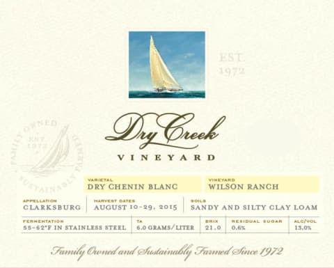 Dry Creek Vineyard Dry Chenin Blanc photo