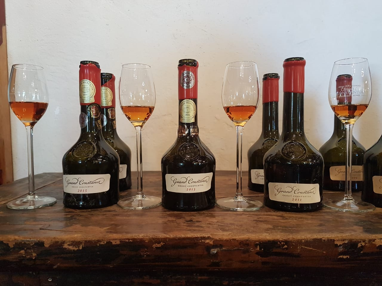 Ambrosia Bottled: A Vertical Tasting Of Groot Constantia's Grand Constance Wine photo