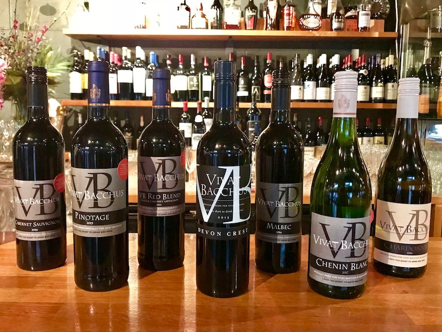 Vivat Bacchus' Own-wine Labels Help South African Charities photo