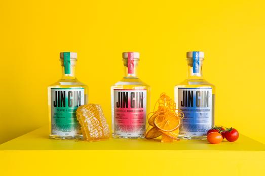 J'something, Sa's Much Loved Muso And Foodie, Launches Jin Gin photo