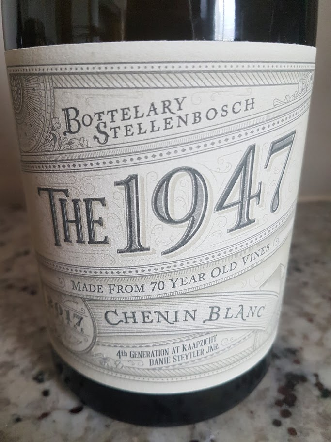 Kaapzicht The 1947 Chenin Blanc 2017 photo
