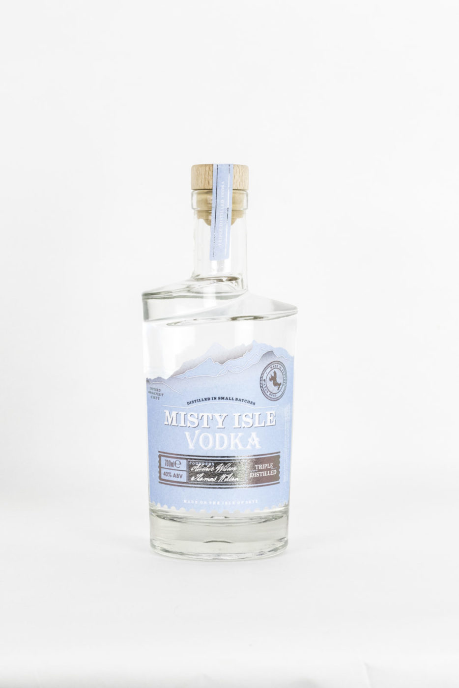 Isle Of Skye Distillers Launch First Vodka To Be Produced On The Island photo