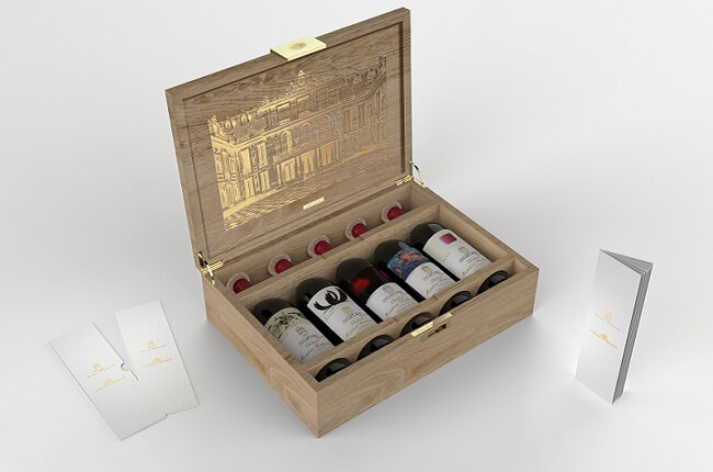 Mouton Rothschild To Release Limited Edition Versailles Cases photo