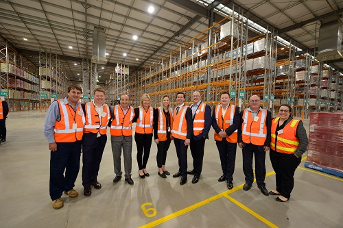 Treasury Wine Estates Expands Warehouse And Distribution Operations At Penfield, South Australia photo