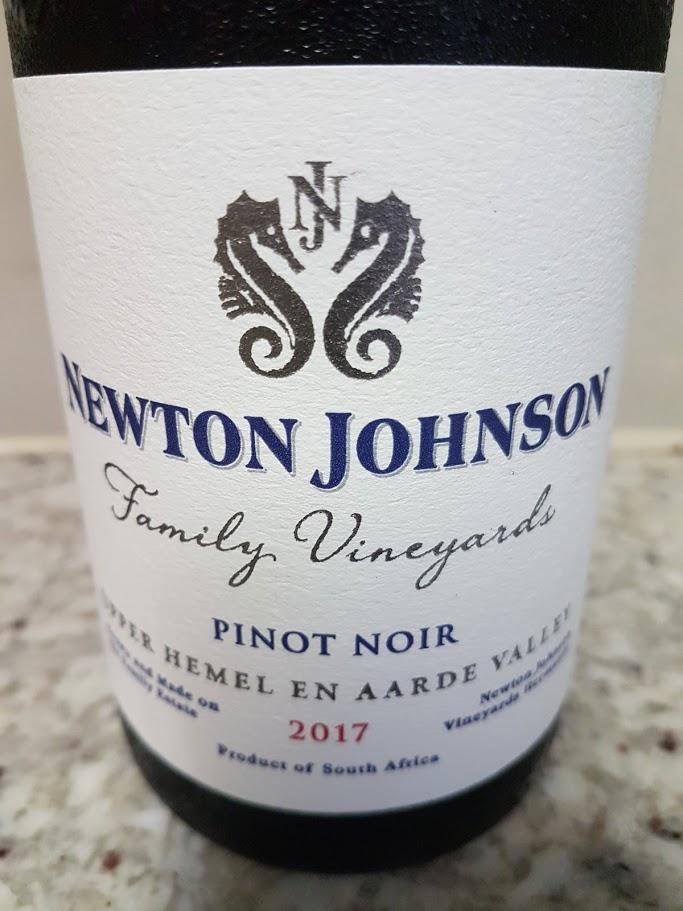 Newton Johnson Family Vineyards Pinot Noir 2017 photo