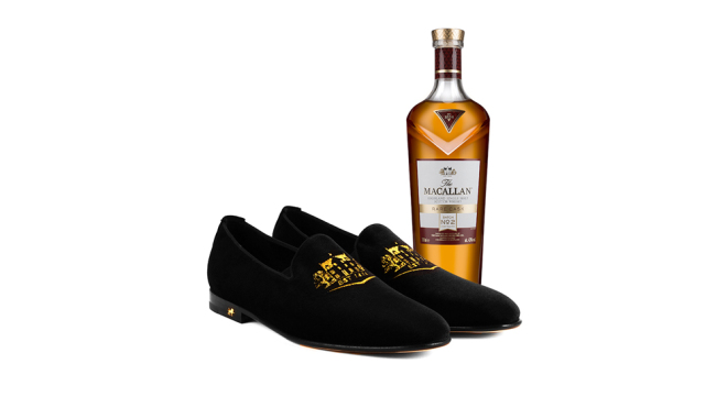 Luxury Shoe Brand Launches Mens Slippers In Honour of Macallan Whisky photo