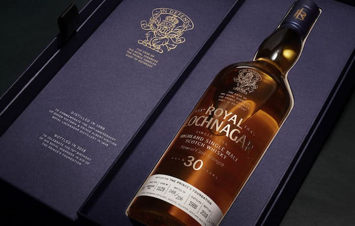 Royal Lochnager Scotch Whisky Chosen By Prince Charles Up For Auction photo