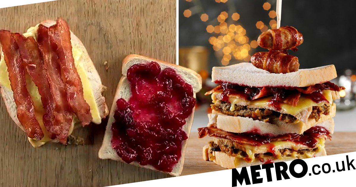 Behold The Perfect Christmas Leftover Sandwich photo