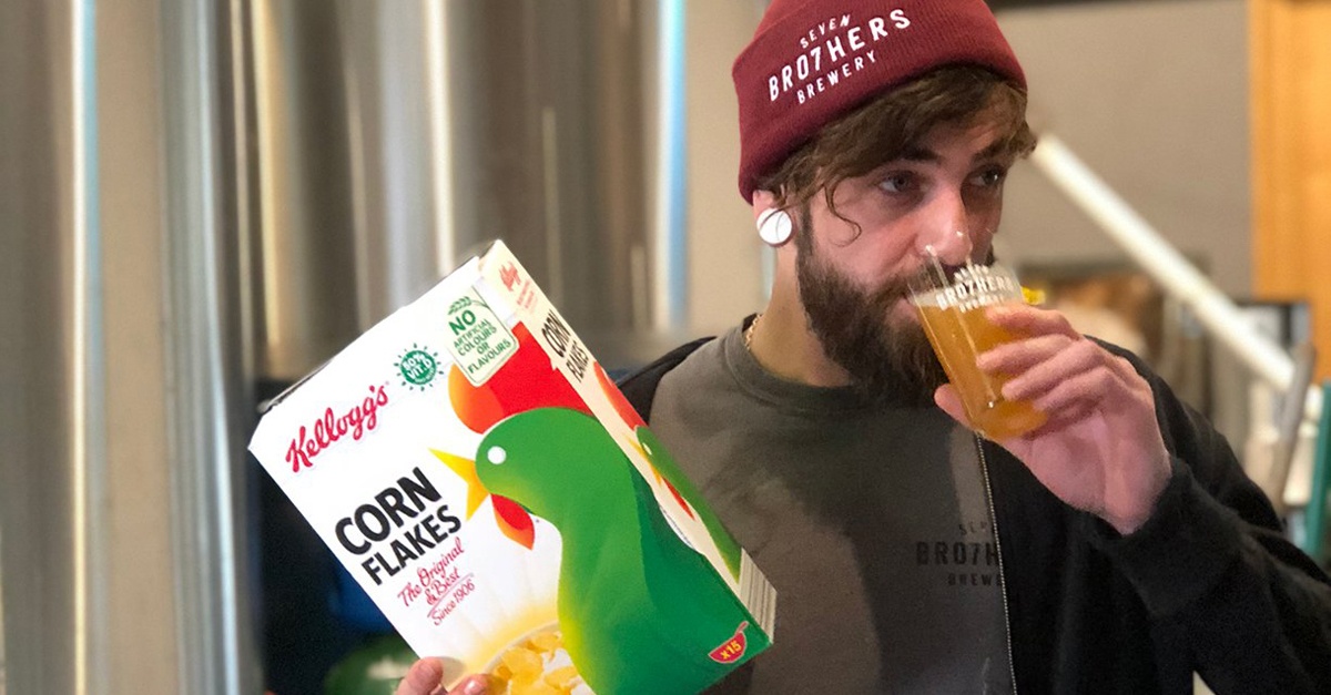 Kellogg's Turns Leftover Corn Flakes Into Beer, Everyone Wins photo