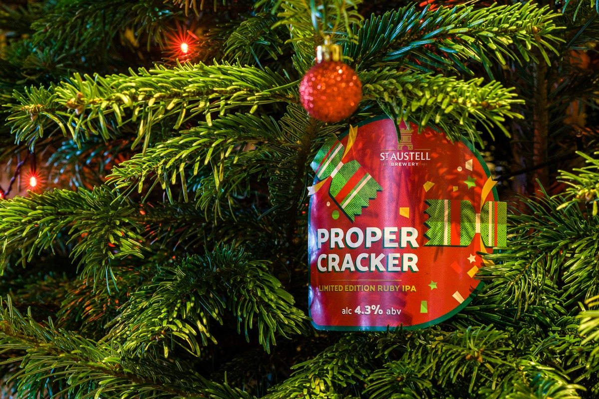 St Austell Releases Proper Cracker Ruby Ipa For Christmas ? Beer Today photo