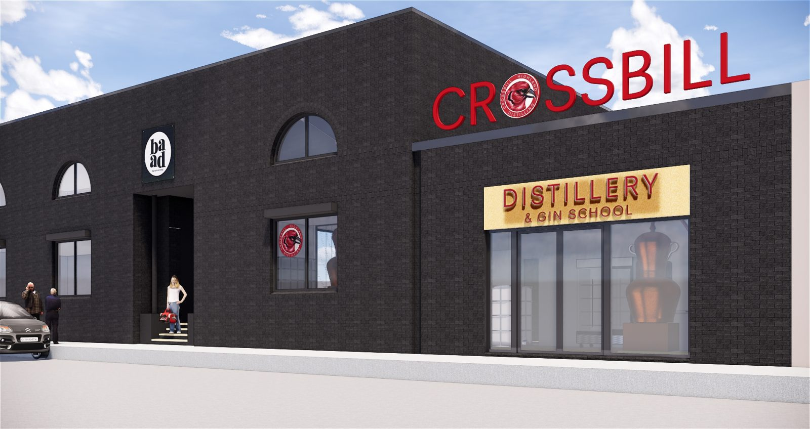 Glasgow Based Distillery And Gin School Crossbill Announces Plans To Expand photo