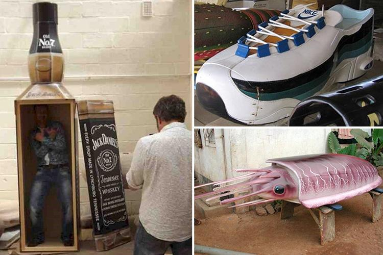 These Crazy Budweiser & Cannon-style Coffins Really Put The Fun In Funeral photo