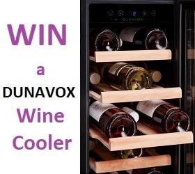 Win A Dunavox Wine Cooler photo