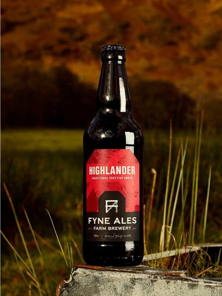 Beer Of The Week: Fyne Ales Highlander Scottish Amber photo