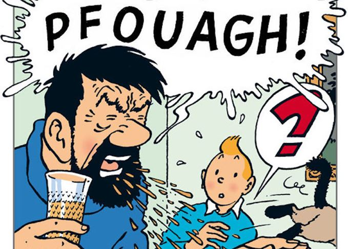 Famous Whisky Drinkers: Captain Haddock photo